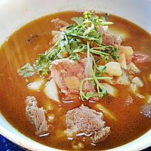 番茄牛腩土豆汤