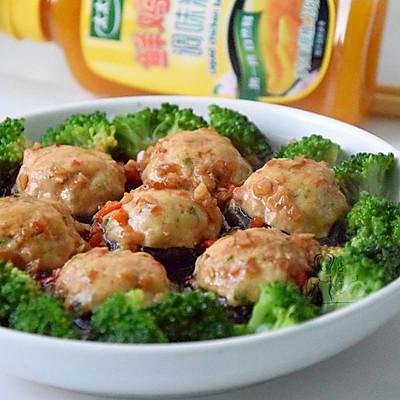 香菇豆腐盒