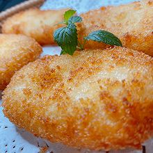 美味芝士薯饼(土豆饼)-比麦当劳的好吃