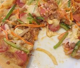 超级至尊披萨的做法