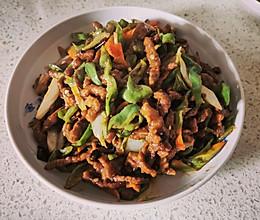 炒青椒肉丝的做法