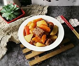 #花10分钟,做一道菜!#红烩土豆牛肉的做法