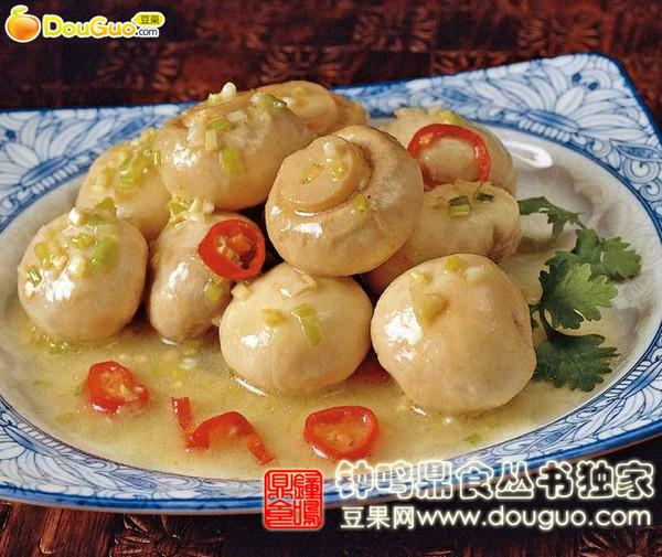 芥辣腌鲜蘑菇的做法