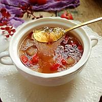 蔓越莓雪梨桃胶雪燕羹#快手又营养,我家的冬日必备菜品#的做法图解9