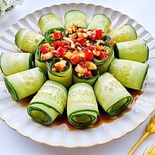#全电厨王料理挑战赛热力开战!#响油黄瓜卷