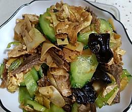 #助力高考营养餐#木须肉的做法
