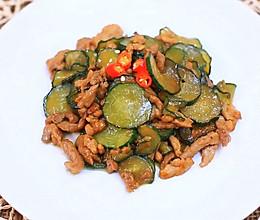 黄瓜炒肉丝—迷迭香的做法
