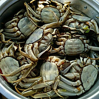 美味蒸河蟹的做法图解6