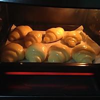 黄油 面包  牛角包的做法图解12