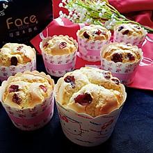 蔓越莓纸杯蛋糕#洁柔食刻,纸为爱下厨#