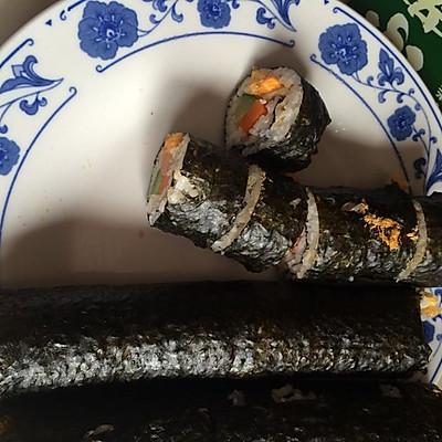 简易肉松寿司