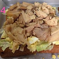 我家有个小吃货-亲子三明治菜谱测评的做法图解5