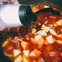 欧式红烩牛肉 番茄牛腩 秋天食补#新手VS西餐厅大厨师#的作法流程详解10
