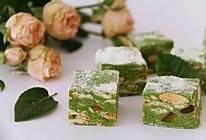抹茶雪花酥熬糖版#柏翠辅食节_烘焙零食#的做法