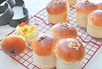花朵夹馅面包#2016松下大师赛(北京)#的做法
