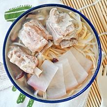 12M+羊排萝卜汤面:宝宝辅食营养食谱菜谱