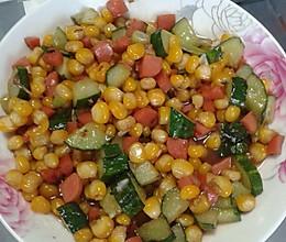 玉米豆的做法