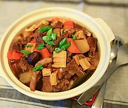 冬日羊肉锅的做法