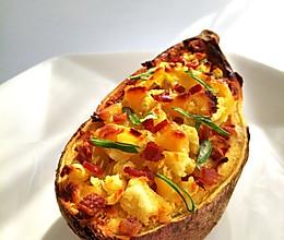 红薯奶酪焗蛋#急速早餐#的做法