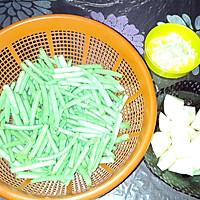 豆角土豆焖意大利面的做法图解1