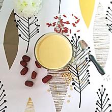 红枣枸杞豆浆