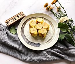 十分钟早餐|香蕉吐司卷的做法