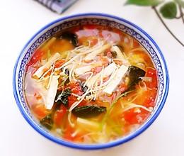清爽开胃豆腐汤的做法