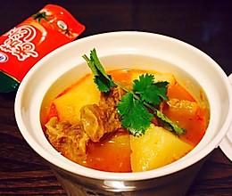 砂锅番茄牛肉汤#十万个喂什么#(做给宝宝们吃的菜)的做法
