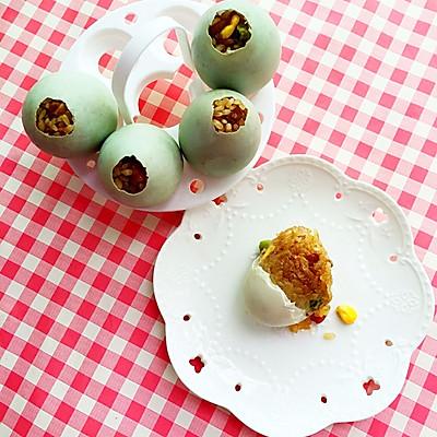 冬季的美味—蛋壳里孵出的腊味饭