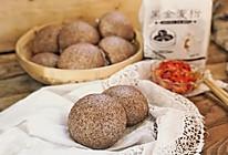 #年味十足的中式面点#黑全麦馒头的做法