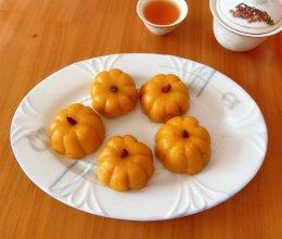#憋在家里吃什么#一口一个小南瓜饼的做法