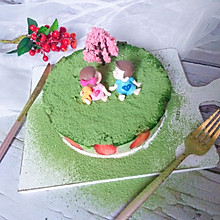 #精品菜谱挑战赛#慕斯蛋糕――樱花的约定