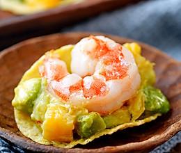 日食记 | 薯片牛油果大虾沙拉的做法
