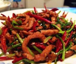 我最爱的菜之—东北香辣肉丝的做法