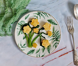 胡萝卜山药糕#中式减脂餐#的做法