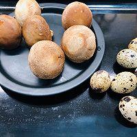 #硬核菜谱制作人#香菇鹌鹑蛋的做法图解1