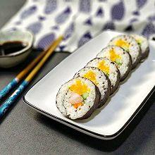 三款馅料基础寿司——烤紫菜包寿司