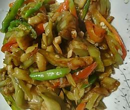 #一勺葱伴侣,成就招牌美味#超下饭少油酱茄条的做法