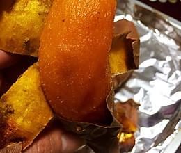烤蜜薯的做法