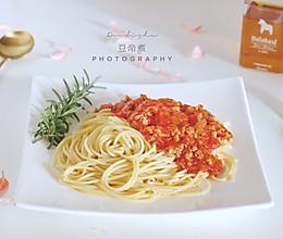 茄酱意大利面的做法