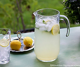 简单柠檬水的做法