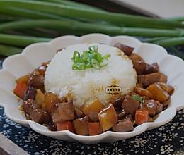 牛肉土豆盖饭