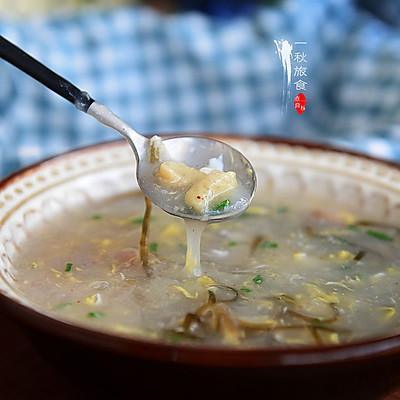 手工面筋稀饭(宝宝辅食早餐)