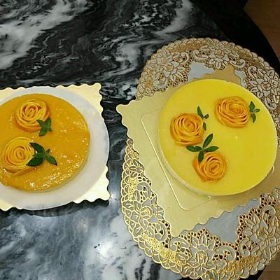 芒果花的摆法