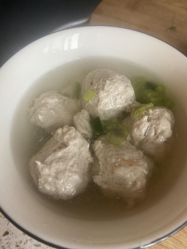 自制贡丸,小孩的长个汤的做法