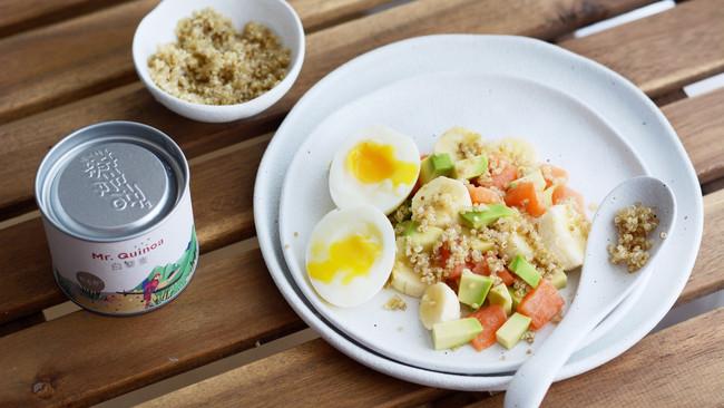 藜麦三文鱼牛油果沙拉的做法