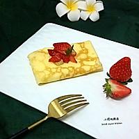 草莓可丽饼#安佳烘培学院#