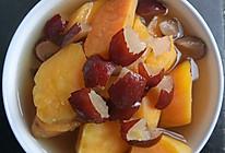 红枣红薯红糖水的做法