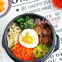 韩式石锅拌饭的做法图解8