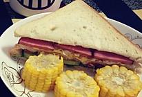 营养早餐:简单易做三明治的做法